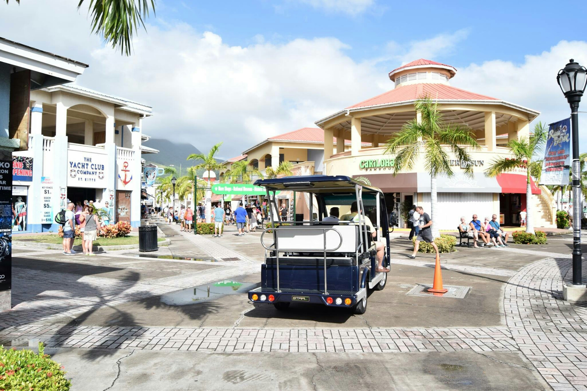 Travelocity ranks st kitts among the top six caribbean for Port zante st kitts