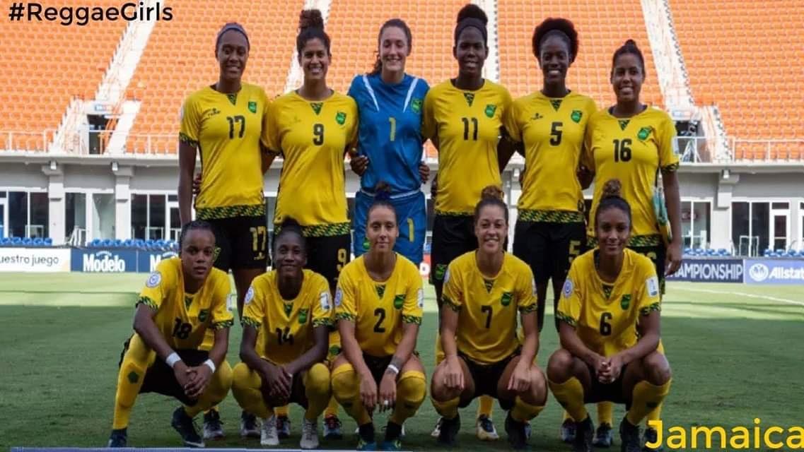 Jamaica First Caribbean Team To Reach The Fifa Women S World Cup
